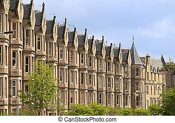 Victorian housing, Edinburgh