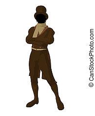 Victorian Man Illustration Silhouette - Victorian man art...