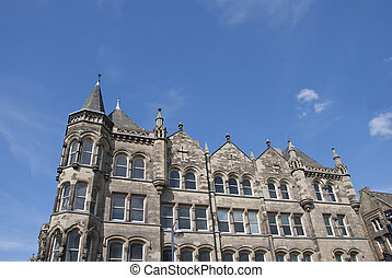 Victorian Office Block - A Nineteenth Century Ornate Office...
