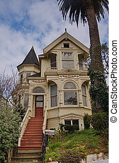 Victorian residential building in San Francisco