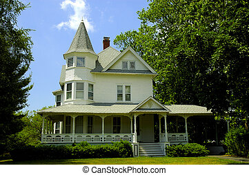 Victorian Style Home - Photo of a Victorian Home