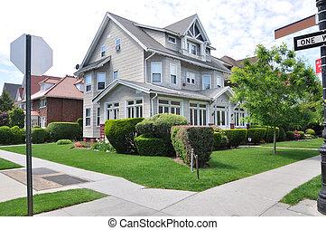 Victorian Style Suburban Home