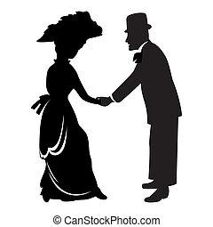 victoriano, pareja