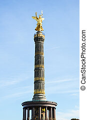 Victory column in Berlin - Germany