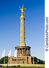 victory column in berlin, germany