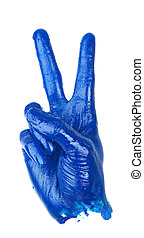 Victory Hand Sign