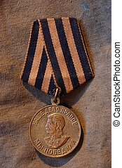 Victory medal - Soviet soldier\\\'s medal for WW2