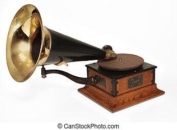 victrola phonograph - Vintage 1929 Victrola phonograph