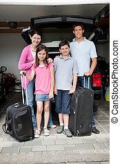 vidám család, folytatódik holiday