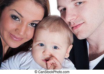 vidám család, gyermekek