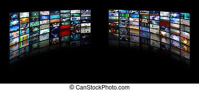vidéo, affichages