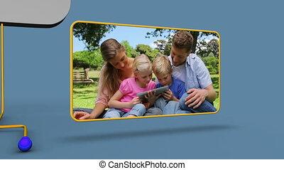 vidéo, famille