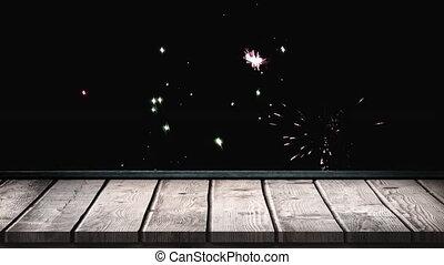 vidéo, feux artifice