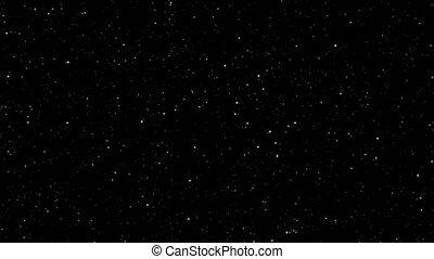 vidéo, mouvement, effet, tourbillon, animation, voile de surface, espace, rotation, lent, lumière, appareil photo, boucle, background.graphic, étoiles, galaxie, ciel noir, scintillement, métrage, ange, zoom, shinny, 4k