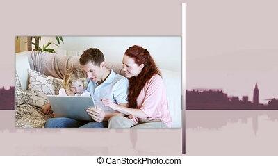 vidéos, familles