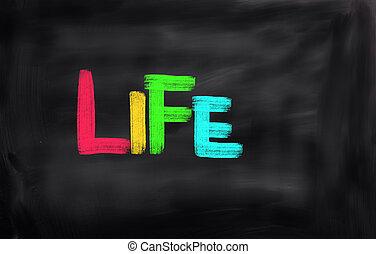 vida, conceito