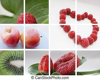 vida, conceito, natureza, beleza, saudável, saúde