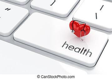 vida, conceito, saúde