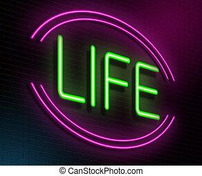 vida, concept.