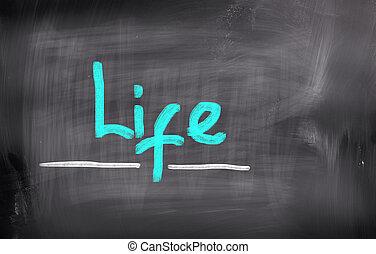 vida, concepto