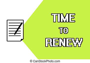 vida, concepto, continuar, acquired, texto, renew., ...