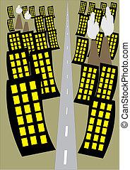 vida de la ciudad