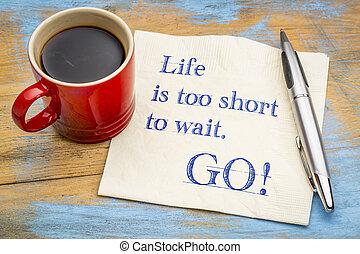 vida, es, también, cortocircuito, a, wait., ¡vaya!