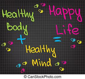 vida, feliz