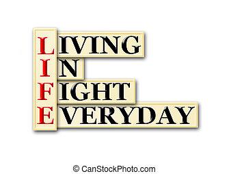 vida, luta