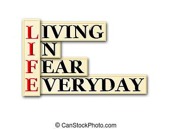 vida, medo