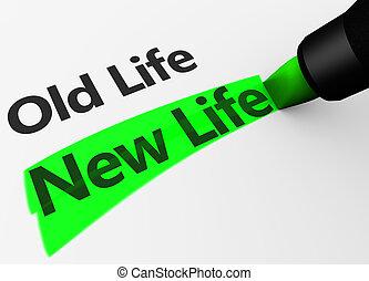 vida nova, conceito