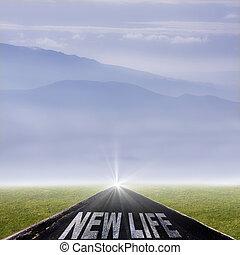 vida nova, mensagem, estrada