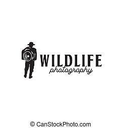 vida salvaje, fotógrafo, estuchepara cámara