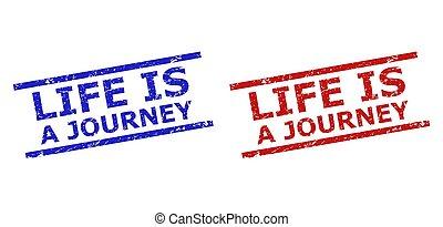 vida, sucio, textura, viaje, líneas, sellos, estampilla, paralelo