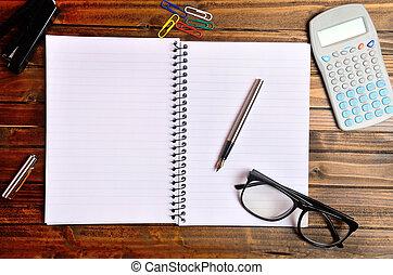Organisateur trombone cahier agrafe image papier for Fourniture bureau papier