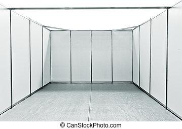 Exposition foire stand propre foire bureau mur conception stand vide appliquer ton for Conception stand de foire