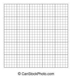 vide, graphique, gabarit, 5x5, cinq, table., carrée, illustration, vecteur, grid., cellule, puzzle