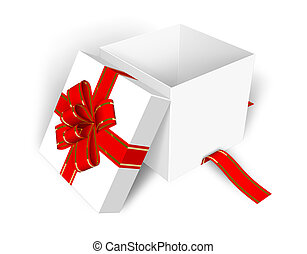 bo te blanc ouvert cadeau bo te ouvert cadeau fond clipart recherchez illustrations. Black Bedroom Furniture Sets. Home Design Ideas