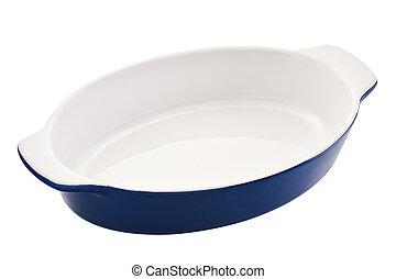 Ovale plat c ramique cuisson plat vert c ramique for Plats cuisines sous vide pour particulier
