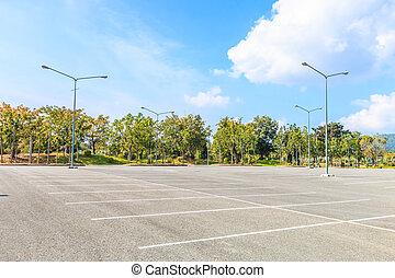 vide, parking