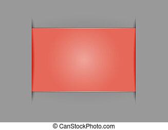 vide, rectangle, gabarit