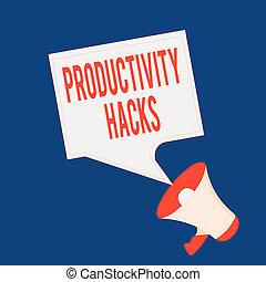 vide, vous, ruses, productivité, parole, showcasing, plus, ...