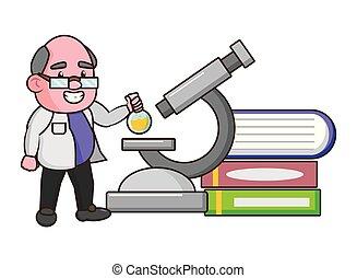 videnskab, professor, videnskabsmand
