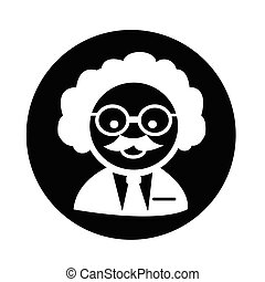 videnskabsmand, professor, ikon