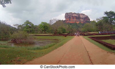 At the foot of Sigiriya. Sri Lanka