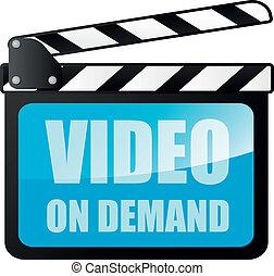 video, auf, nachfrage