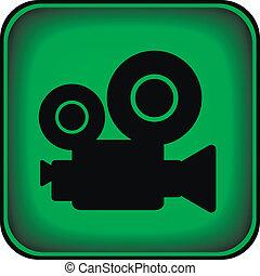 Video camera button