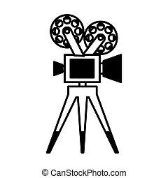 video camera film icon