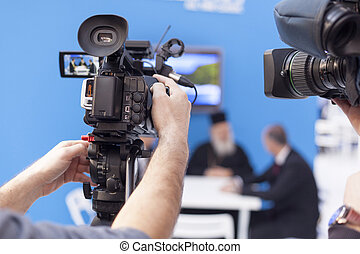 Video camera - Filming an event with a video camera