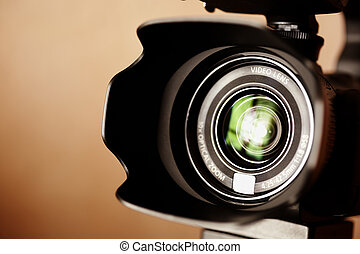 video camera - professional high definition camcorder in...